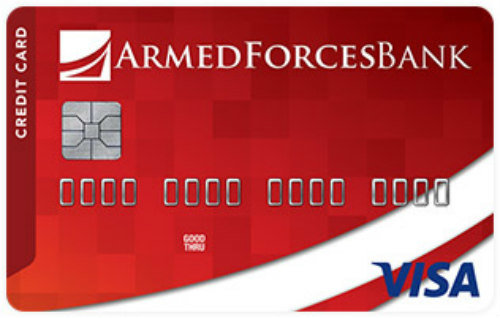 Armed Forces Bank Credit Builder Secured Visa