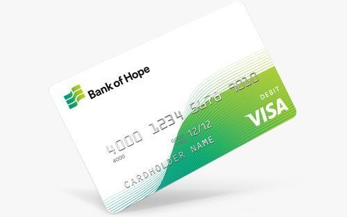 Bank of Hope Visa Platinum
