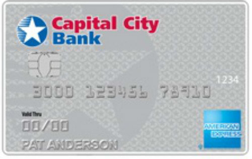 Capital City Bank Cash Rewards American Express Card