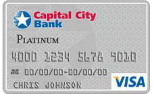 Capital City Bank Visa Platinum Card