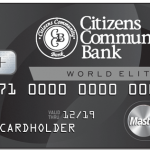 Citizens Community Bank World Elite Card