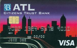 Citizens Trust Bank Visa Classic ATL Credit Card