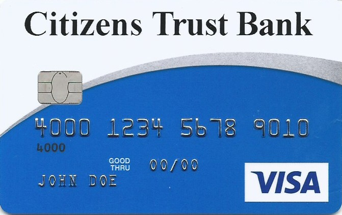 Citizens Trust Bank Visa Classic Secured Card
