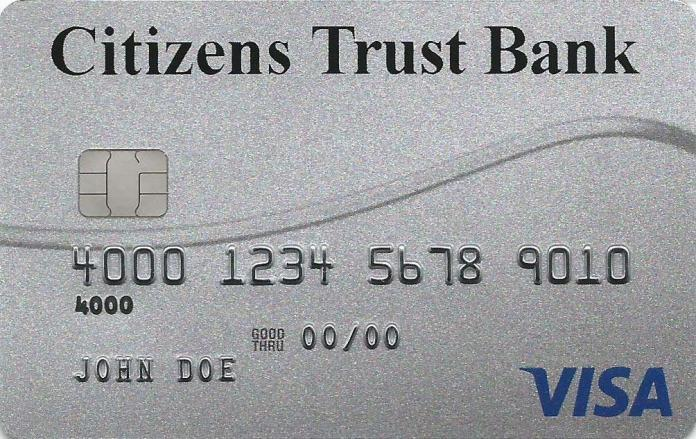 Citizens Trust Bank Visa Privilege