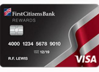 First Citizens Rewards Visa Card
