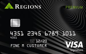 Best Low Interest Credit Cards - Regions Premium Visa Reviews