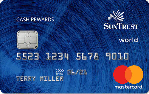 SunTrust Bank Cash Rewards Credit Card