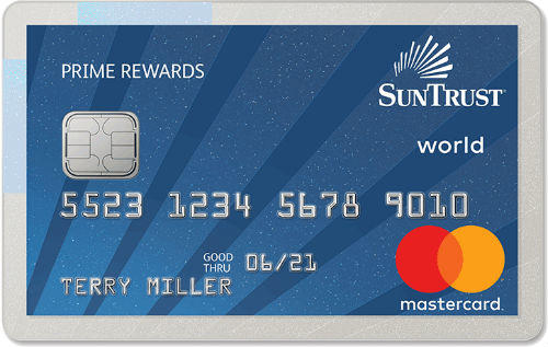 SunTrust Bank Prime Rewards Credit Card