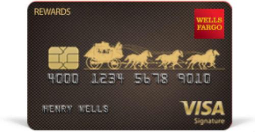 Wells Fargo Visa Signature