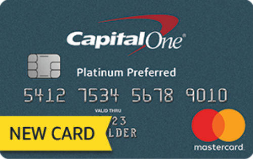 Capital One Platinum Preferred Card