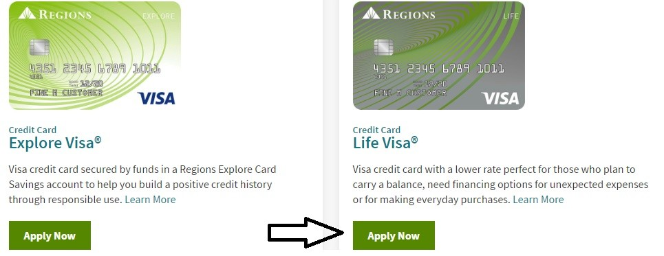 Click on apply now button under the credit card which you want to own