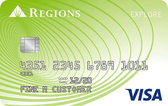 Regions Student Credit Card