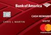 Bank of America Cash Rewards Credit Card