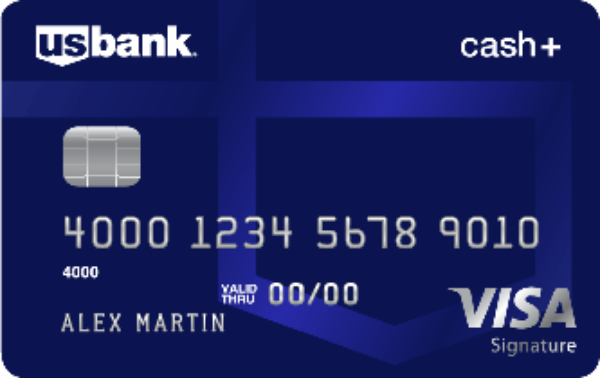 U.S. Bank Cash+ Visa Signature Card