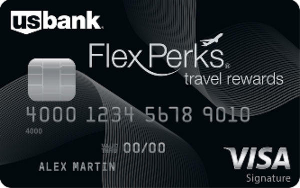 U.S. Bank FlexPerks Travel Rewards Visa Signature Card
