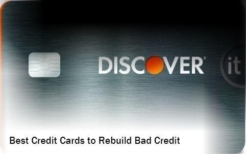 , Best 5 Credit Cards to Rebuild Bad Credit (2019)