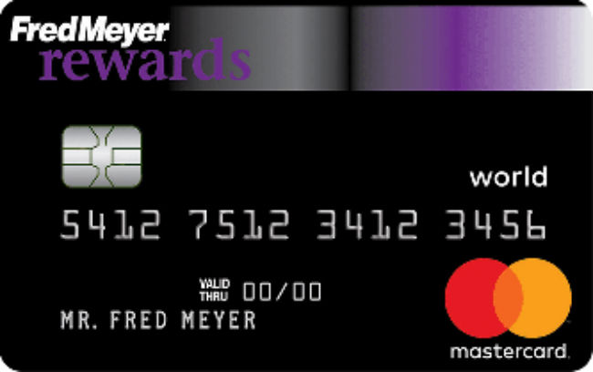 Fred Meyer Rewards World Mastercard