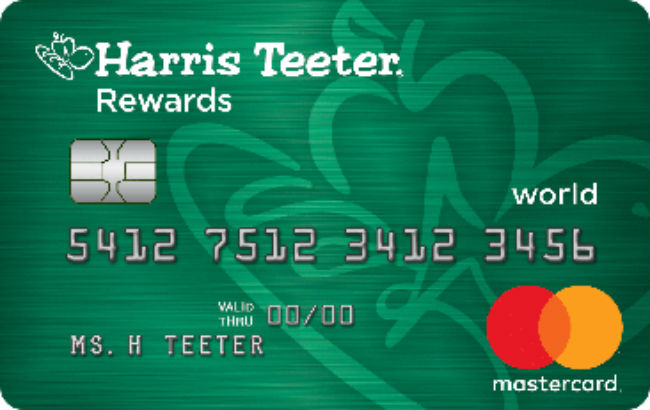 Harris Teeter Rewards Credit Cards