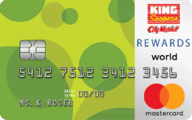, King Soopers REWARDS World Mastercard