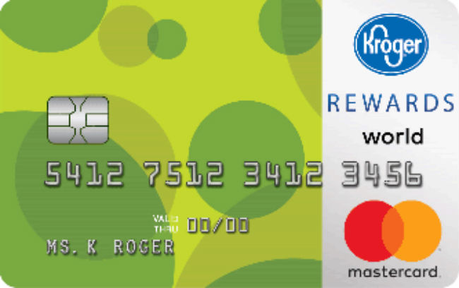 Kroger REWARDS World Mastercard