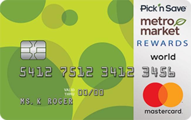 Pick'n Save/Metro Market REWARDS World Mastercard
