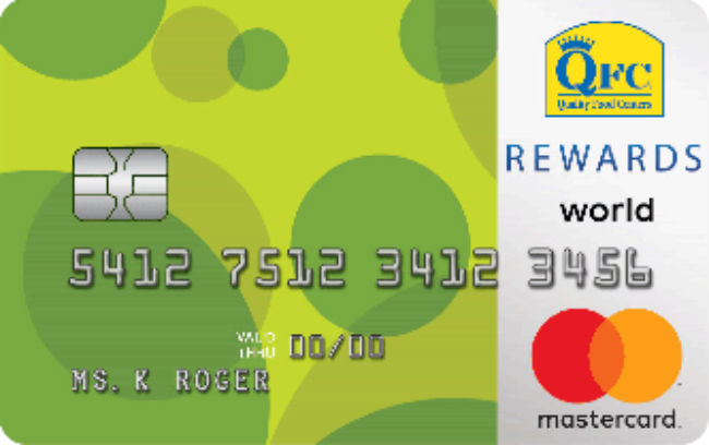 QFC REWARDS World Mastercard