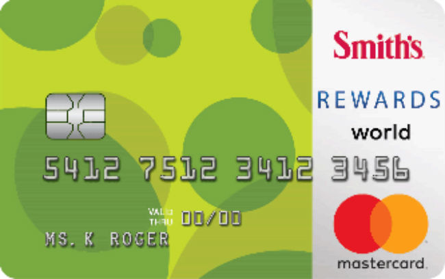 Smith's REWARDS World Mastercard