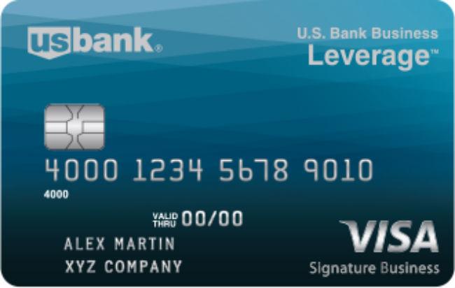U.S. Bank Business Leverage Visa Signature Card