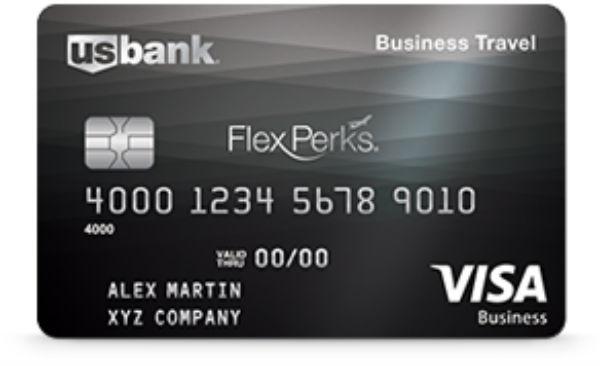 U.S. Bank FlexPerks Business Travel Rewards Visa Card
